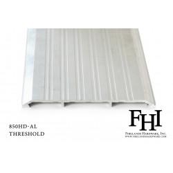 FHI 850 Heavy Duty Aluminum Threshold W/ Mill Finish