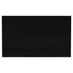 American imaginations AI-158 28-in. W x 18.25-in. D Quartz Top In Black Galaxy Color
