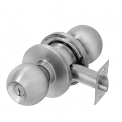 PDQ SV Serise Cylindrical Locks, Single Cylinder, CQ Ball Knob, Schlage / C, Keyed Random
