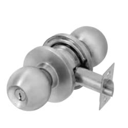 PDQ SV Serise Cylindrical Locks, Single Cylinder, CQ Ball Knob, Schlage / C, Keyed Random