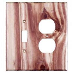 Sierra 6825 Traditional Toggle / Duplex - Juniper Plate
