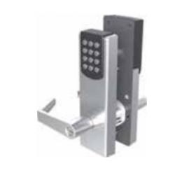 PDQ EGT Serise Stand Alone Cylindrical Lockset, Interface- Keypad Only, Model- Basic, Strike- Curved Lip, Keyway- Schlage / C
