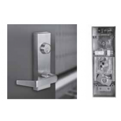 PDQ 6EW 199A Electronic Locking Trim, Rim Sarface Vertical Rod Concealed Vertical Rod, Keyway- Schlage / C, Keyed Different