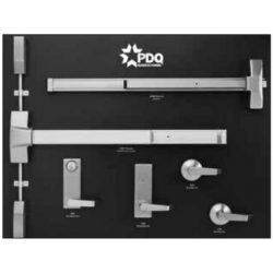 PDQ DISP DEVICE 1, 6200, 4200 Series Escutcheon and Sectional Trim