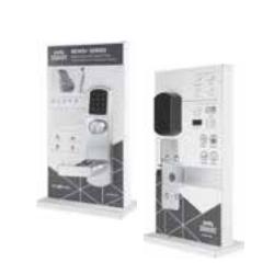 PDQ Smart DISP 6EWS-XLS Series Heavy Duty Exit Device Trim