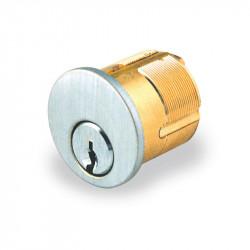 GMS Mortise Cylinder with SE - Segal 9 Keyway