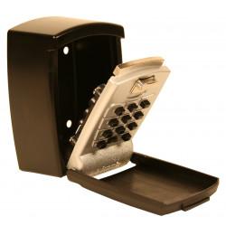 FJM Security SL590 KeyGuard Push Button Lock Box- Wall Mount w/ Cover