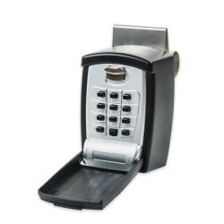 FJM Security SL591 KeyGuard Window Mount Push Button Lock Box w/Cover