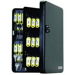 FJM Security SL9122 KeyGuard Key Cabinet, 122 hooks, Combination Lock