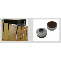 "Expended Technologies 137 Slip-Over Floor Savers For glides 1"" and under, Size- 1-1/4"""