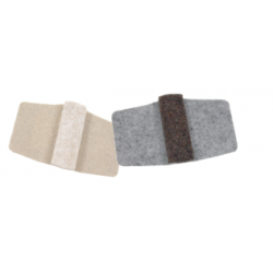 "Expended Technologies WRAP Wrap-Around Floor Savers, Size- 1-7/8"" x 2-3/8"""