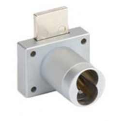 CCL 70013 70 Series Key In Knob Interchangeable Core Lock - Top Locking, Dead Latch, Drawer Lock