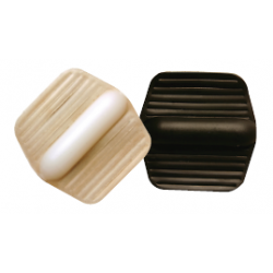 "Expended Technologies 132 Wrap-Around Sliders, Size-1-1/2"" x 1-7/8"""