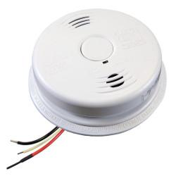 Kidde i12010 Worry-Free AC Hardwired Combination Smoke & Carbon Monoxide Alarm Sealed Lithium Battery Backup