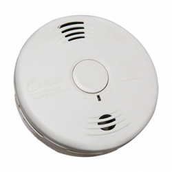 Kidde P3010KC Worry-Free Combination Smoke and Carbon Monoxide Alarm with Sealed Lithium Battery Power