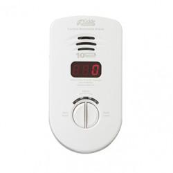 Kidde KN-COC Smoke Alarm CO, Plug-in - Ten Year Sealed Backup - Digital Display - CSA Listed