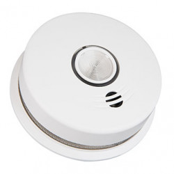 Kidde P4010LAW Wire-Free Interconnected Hardwired Smoke Alarm with Egress Light