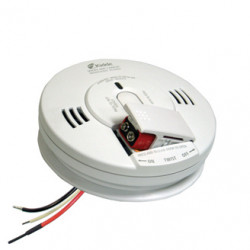 Kidde KN-COPE Firex AC Hardwired Combination Carbon Monoxide & Photoelectric Smoke Alarm
