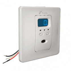 Kidde KN-COPF Silhouette AC Hardwired Operated Carbon Monoxide Alarm with Digital Display