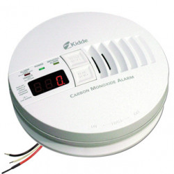 Kidde KN-COP-I AC Hardwired Operated Carbon Monoxide Alarm with Digital Display