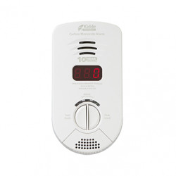 Kidde KN-COP-6 Carbon Monoxide Alarm AC Powered, Plug-In with Battery Backup - No display, 6pk carton