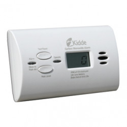 Kidde KN-COPP-LPM Battery Operated Carbon Monoxide Alarm with Digital Display