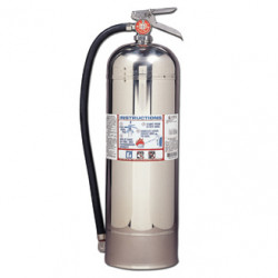 Kidde ProW Pro 2.5 W Water Fire Extinguisher 466403