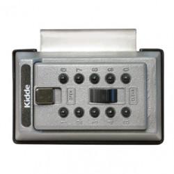 Kidde 1017 KeySafe Portable Over-The-Door Mount, Pushbutton, ?Titanium