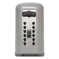 Kidde KeySafe 2047 P500 Pushbutton, with Cover, Titanium