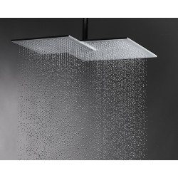 """Rain Therapy NO-KSDU560 22"""" X 16-3/4"""" Overall Dims Shower Heads - 16"""" XL Wall Shower Arm"""