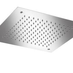 """Rain Therapy SQ-E0440 15"""" Square Flush Mount Shower Head"""