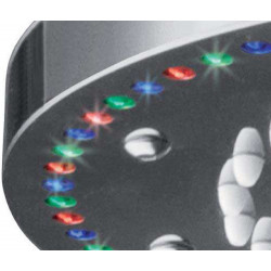 """Rain Therapy RD-PD20 15-3/4"""" Round Shower Head With Chromatherapy LED Light"""