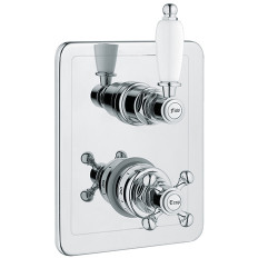 """Rain Therapy OM-30117 In Wall Thermostatic 3/4"""" Valve With 1 Volume Control"""