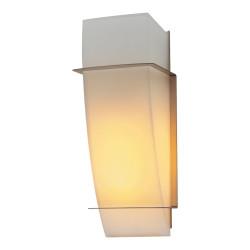 PLC Lighting 21062 SN 1-Light Wall Sconce, Enzo-I Collection, Finish-Satin Nickel