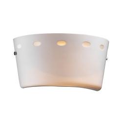 PLC Lighting 7004 1-Light Wall Sconce Ondrian-I Collection, Finish-Polished Chrome