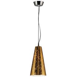 PLC Lighting 76011 1-Light Mini Pendant Ceiling Light, Baolis Collection, Finish-Polished Chrome