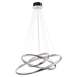 PLC Lighting 81315PC Jazz Led Pendant Ceiling Light, 55W, Finish-Polished Chrome
