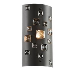 PLC Lighting 81390BK 1-Light Wall Sconce Twilight Collection, 40W, Finish-Black