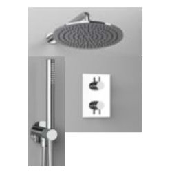 """Rain Therapy NO-020M 1/2"""" Pressure Bal Valve With Diverter, Polished Chrome"""
