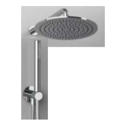 "Rain Therapy NO-20NV 12"" Round Shower Head, Polished Chrome"