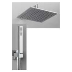 "Rain Therapy NO-420NV 12"" Square Shower Head, Polished Chrome"