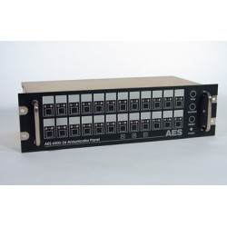 AES 6500-24 24 Zones Annunciator With Digital Interface