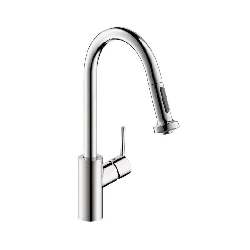 hansgrohe 14877001 talis s 2 spray higharc kitchen faucet. Black Bedroom Furniture Sets. Home Design Ideas