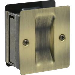 Delaney 270 Pocket Door Lock - Square Traditional