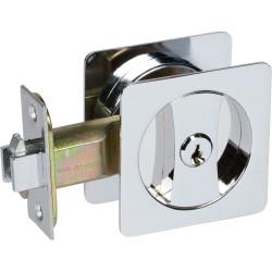 Delaney 370 Contemporary Square Pocket Door Lock