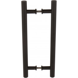Delaney BD046 15-3/4 Inch Barn Door Pull Handle - Double Sided Round