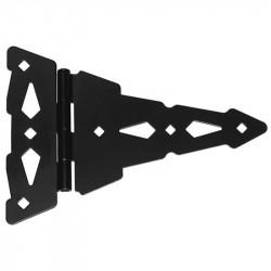 "D&D 310008 Wood Hardware 8"" Heavy Duty Contemporary Hinge, Strap Hinge"