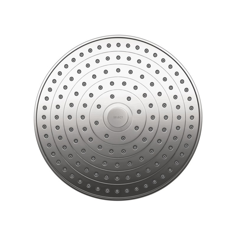 hansgrohe 26469001 raindance select s 240 air showerhead. Black Bedroom Furniture Sets. Home Design Ideas