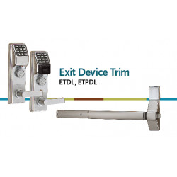 Alarm Lock ETDL27 Series Exit Device Trim Lock