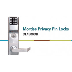 Alarm Lock DL4500 Mortise Privacy Pin Lock